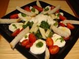 Zeleninový šalát s mozarellou a eidamom/Zeleninový salát s mozarellou a eidamem