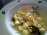 Zemiaková polievka so zeleninou