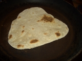 Chapati - indicke placky