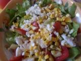 Jarní salát  - salatka wiosenna