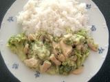 Kuracie prsia s brokolicou a syrom