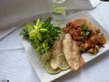 Pečený Pangasius s hubovým ragú / dietne