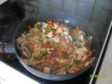Plnené kotlety na zelenine