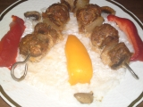 Ražniči z mletého mäsa
