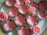Ružičky  na torty zo sušeného mlieka