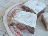 Slivkový koláč s orechami
