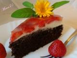 Torta  / rezy s tvarohovým krémom, ovocím a želatinou