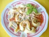 Tortellini s paradajkovou omáčkou