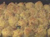 Zapečené knedlíčky s mangoldom