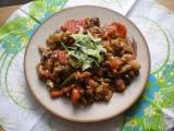 Zeleninová panvica s hubami / dietne