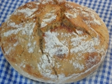 Chleba s chrumkavou kôrkou