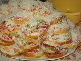 Chutné obložené sendviče  / ala Iva