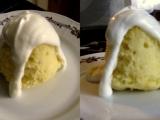 Citrónovo tvarohová piškótová torta