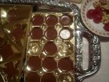 Domáce čokoládové bonbony