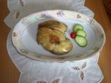 Foie gras s medovou dijonskou horčicou a marhuľovým chutney