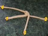 Housky pletené ze dvou pramenů