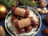 Kakaové trubičky z krabičky