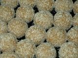 Kokosové guľky nepečené