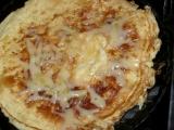 Ľúta omeleta s bryndzou a bez múky - rychlovka