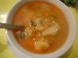 Madarská karfiolová polievka