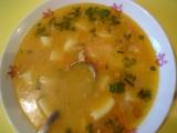 Maďarská zemiaková polievka s hubami