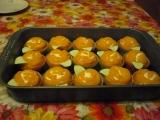 Mandarinkové košíčky - cupcakes