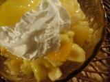 Ovocný šalát  s pikantným mangom