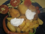 Pečené zemiaky s majonézou /Pečené brambory s majonézou