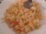 Šalát z pekingskej kapusty a póru / Salát z pekingského zelí s pórkem