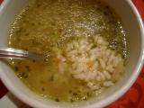 Slepačia polievka s ryžou / Slepičí polévka s rýží