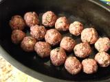 Talianske mäsové guľky