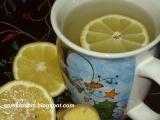 Zázvorový čaj s ovocím