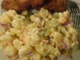 Zemiakový šalát s majonézou /Bramborový salát s majonézou