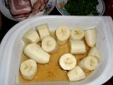 Alkoholizovane bananove jednohubky v slanine / Alkoholisované banány v boku neb slanině balené
