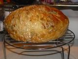 Biely chlieb pre Milana - pečený v trúbe a skoro bez práce