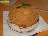 Bochník plnený kokosovým krémom /Bochánek plněný kokosovým krémem