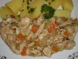 Dusená zelenina s mäsom