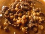 Hovädzia omáčka s fazuľami /Hovězí omáčka s fazolemi