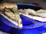 Hruškovo-mandľový koláč