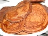 Kakaové lievančeky s opitým mascarpone krémom