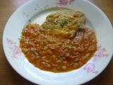 Kuracie prsíčka s paradajkami a paprikami