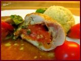 Letné kuracie závitky/Letní kuřecí závitky s cherry rajčaty a bazalkou