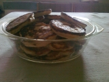 Mandľové lievančeky s limetovo-medovou zálievkou