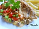 Morčacie mäso s hubami /Krůtí maso s houbami