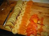 Ovocný šalát s cesnakom