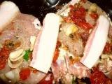Pečená kotleta so sušenými paradajkami /Pečená kotleta se sušenými rajčaty