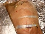 Pečené česnekové koleno