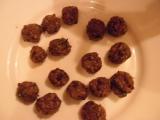 Pečienkovo sójové knedličky do polievky /Játrovo-sójové knelíčky do polévky