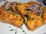 Pikantné vajíčka na chlieb, topinky