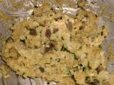 Placky z rožkov a húb /Rohlíkové placičky s houbami
